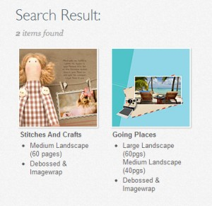 Readybook Search function02