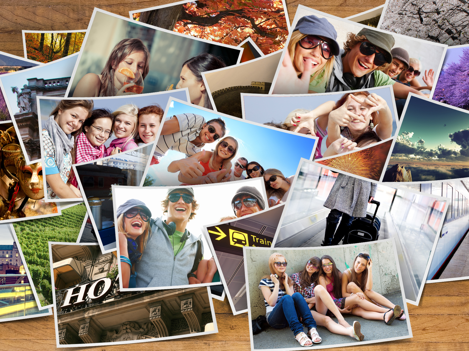 How to organize your pictures from your vacation for a photobook