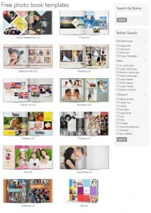 Free Photobook Templates   Readybooks
