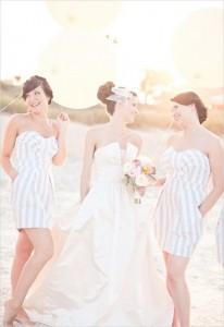 striped-bridesmaid