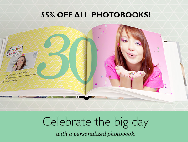 birthday photobooks
