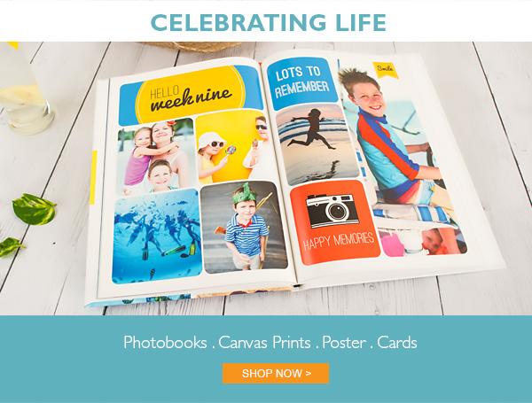 celebrating life photobook