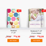 #MYCyberSALE gift notebook