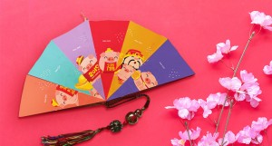 ...or ang pao fans to breezily welcome your guests.