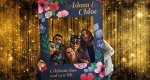 Amp up the fun with memorable Photo Props for the album.